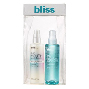 bliss Youth As We Know It Cleanser Toner Duo (Worth £45.00)