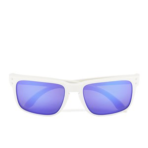 Oakley Men's Holbrook Matte Iridium Sunglasses - White