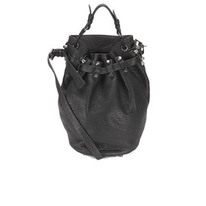 Alexander Wang Women's Diego Pebble Leather Bag - Black/Nickel Hardware