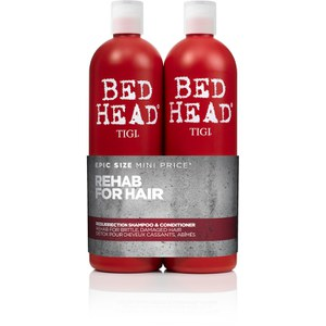 TIGI Bed Head Resurrection Tween Duo (2x750ml) (Worth £29.95)