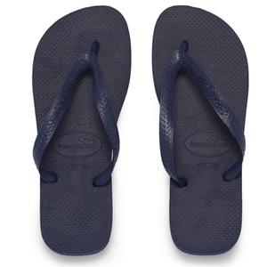 Havaianas Unisex Top Flip Flops - Navy Blue