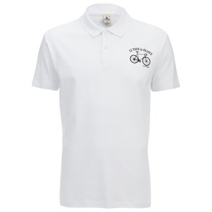 Le Coq Sportif Tour de France N3 Short Sleeved Polo Shirt - White