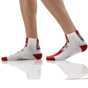 Santini Zest Summer Standard Profile Socks - Red
