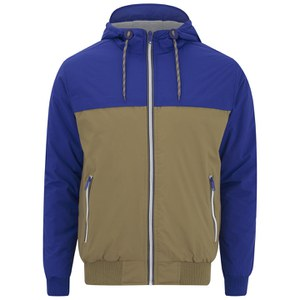 Brave Soul Men's Parakeet Jacket - Blue/Stone