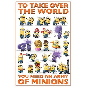 Despicable Me 2 Take Over the World - Maxi Poster - 61 x 91.5cm