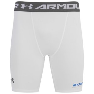 Under Armour® Men's Heatgear Sonic Compression Shorts - White