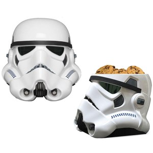 Star Wars Stormtrooper Cookie Jar - Black/White