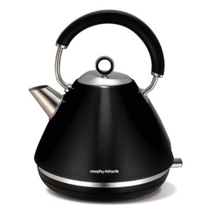 Morphy Richards 102002 Accents Traditional Kettle - Black