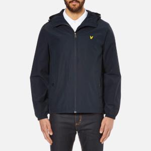 Lyle & Scott Vintage Men's Zip Through Hooded Jacket - New Navy