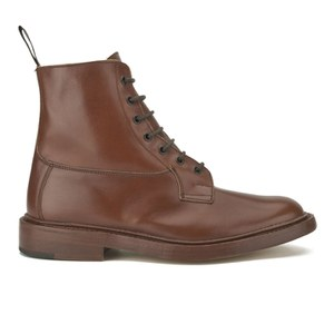Tricker's Men's Burford Leather Boots - Tan