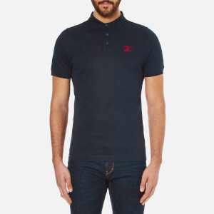 Barbour Heritage Men's Standards Polo Shirt - Navy