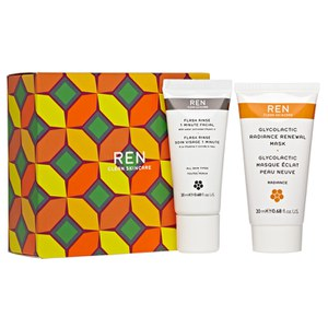 REN Glow and Go Exclusive Kit (Worth £34.00)