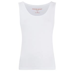 Derek Rose Women's Carla Secret Support Vest Top - White