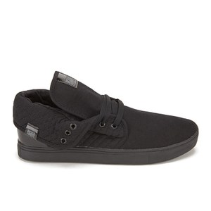Beck & Hersey Men's Dogstar Roll Down Trainers - Black