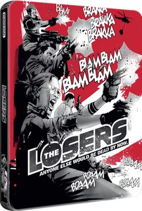 Los Perdedores - Steelbook Exclusivo de Edición Limitada