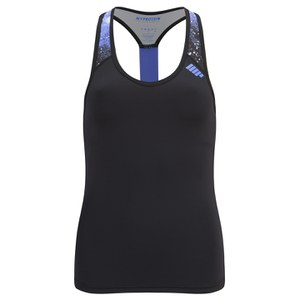 Myprotein Damen Racer Back Scoop Top mit Support - Violett Graffiti