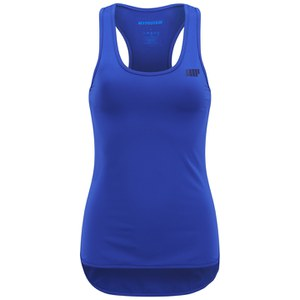 Myprotein Damen Racer Back Scoop Top mit Support - Blau