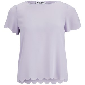 Vero Moda Women's Ring Top - Purple Heather