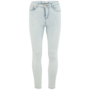 Vero Moda Women's Wonder Ankle Jeggings - Light Blue Denim