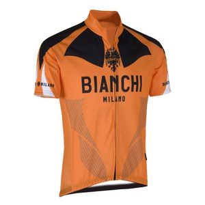 Bianchi Huerva Short Sleeve Jersey - Orange