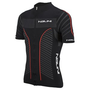 Nalini Taverino Short Sleeve Jersey - Black/Red
