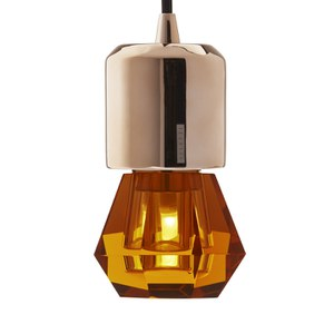 Seletti Crystaled Spot LED Lamp Bulb E27 - Amber