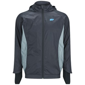 Kurtka Myprotein Men's Tech Jacket - kolor szary