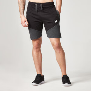 Myprotein Panelled Sweatshorts voor Heren - Black
