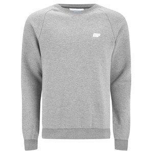 Myprotein Men's Crew Neck Sweatshirt – Grey Marl