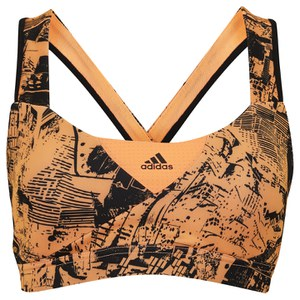 adidas Adistar Women's Bra - Black/Flash Orange