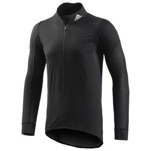 adidas Men's Warm Wind Walter Long Sleeve Jersey - Black/Reflective Silver