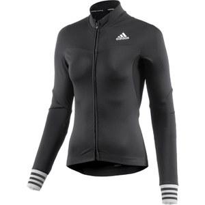 adidas Women's Adistar Long Sleeve Jersey - Black