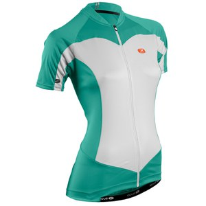Sugoi Women's Evolution Short Sleeve Jersey - Green