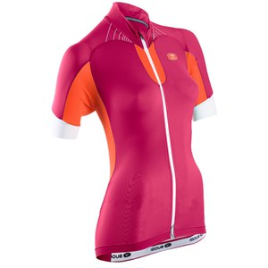Sugoi Women's RS Ice Short Sleeve Jersey - Pink