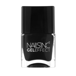 nails inc. Black Taxi Gel Effect Nail Varnish (14ml)