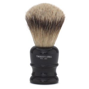 Truefitt & Hill Wellington Super Badger Shave Brush - Faux Ebony