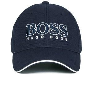 BOSS Green Men's Large Logo Cap - Navy