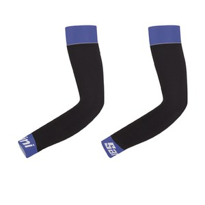 Santini BeHot Arm Warmers - Black/Blue