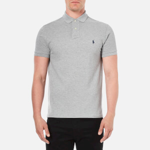 Polo Ralph Lauren Men's Custom Fit Short Sleeved Polo Shirt - Andover Heather