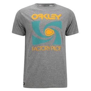 Oakley Men's Spoke T-Shirt - Dark Heather Grey