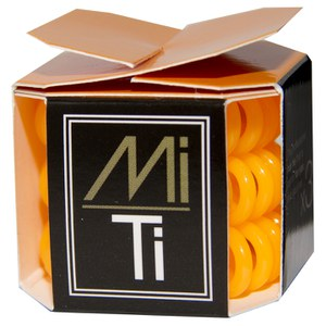 MiTi Professional Hair Tie - Orange Fizz(3 条)
