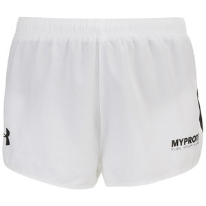 Under Armour Men's Athletic Shorts, White/Black