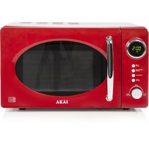 Akai A24006R Digital Microwave - Red - 700W