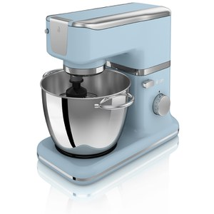 Swan SP21010BLN Retro Stand Mixer - Blue - 1000W