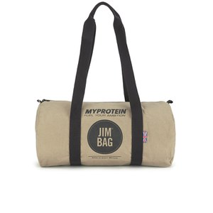 Myprotein Jim Bag Canvas Barrel Bag - Camel/Black