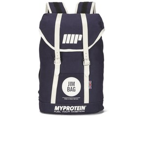 Myprotein Jim Bag Canvas Rucksack - Navy