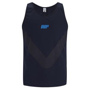 Myprotein Men's Racer Back Running Vest  - Navy
