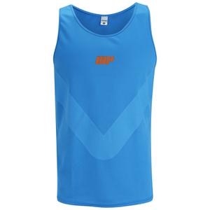 Myprotein Men's Racer Back Running Vest  - Blue