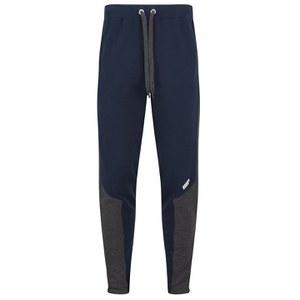Myprotein Men's Panelled Slimfit Sweatpants with Zip - Navy