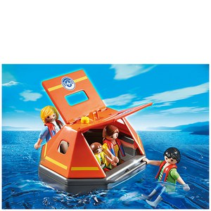 Playmobil Coast Guard Life Raft (5545)